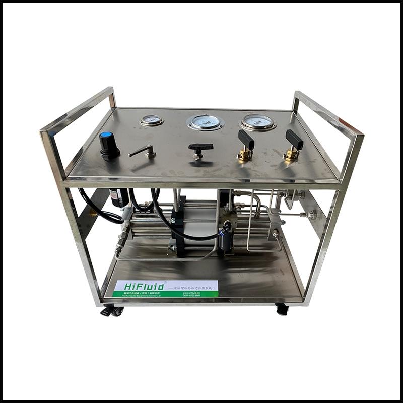 陕西不锈钢框架高压气体增压系统