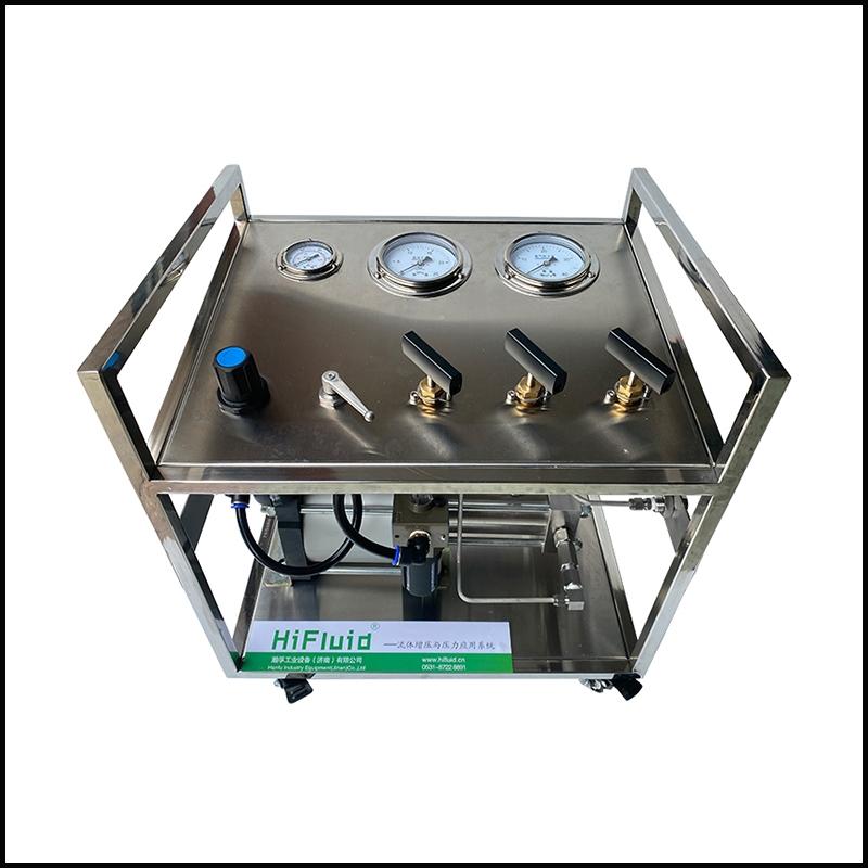 陕西不锈钢框架气体增压系统
